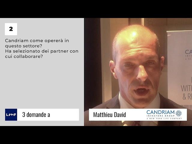 Un nuovo emittente di ETF - Matthieu David (Candriam)