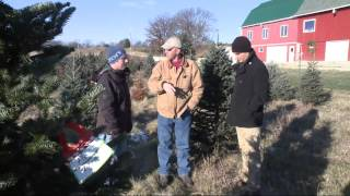 A Visit to Hann's Xmas Tree Farm in Oregon 12-1-13