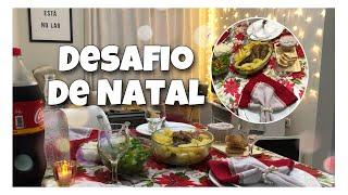 CARDÁPIO COMPLETO CEIA DE NATAL ATÉ R$120 - DESAFIO