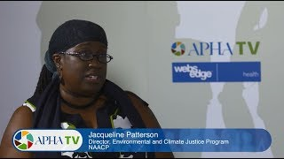 NAACP's Jacqui Patterson on environmental justice at APHA 2017