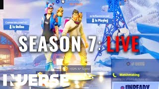 Fortnite Season 7 LIVE: New Map, Battle Pass, Skins, Week 1 Challenges | Squad Up