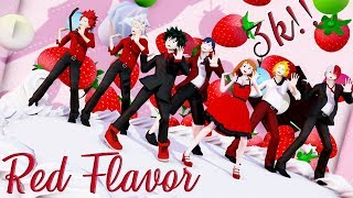 【MMD】『ヒロアカ』 RED FLAVOR 빨간 맛 | 3K SPECIAL