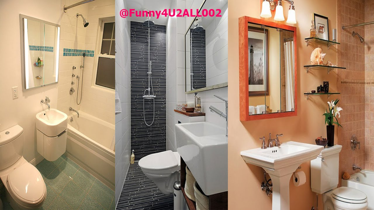 Big ideas for small bathrooms youtube - Pictures of small bathrooms ...