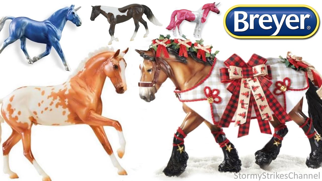 2020 Christmas Breyer Breyer 2020 Holiday Horse, Ornaments, & More New Models!   YouTube