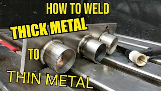 TFS: How to Weld Thick Metal to Thin Metal