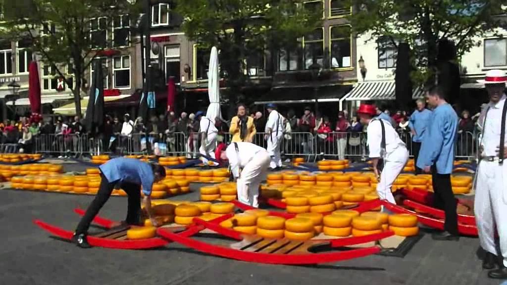 Mercado De Quesos De Alkmaar Youtube