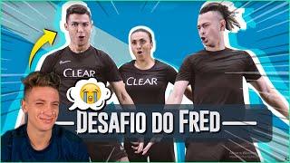 MINHA REAÇÃO AO VER CRISTIANO RONALDO vs FRED!! ( chorei? )