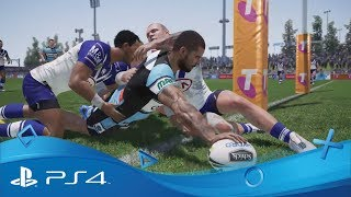 Rugby League Live 4   Release Trailer   PS4