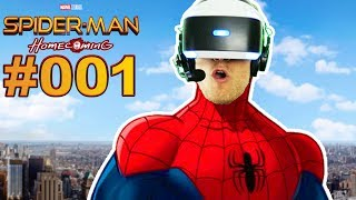 SPIDER-MAN HOMECOMING MIT PLAYSTATION VR 🐲 Let