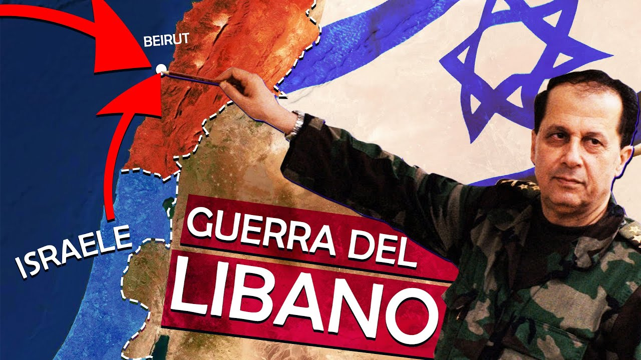 La Guerra del Libano (1982): quando Israele invase Beirut