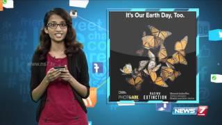 Earth day celebrations in NASA @  #Vingyanam | News7 Tamil