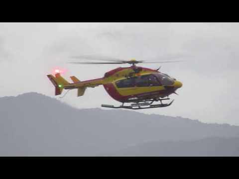 Live Hurricane irma fort de france martinique helicopter recue 18pm