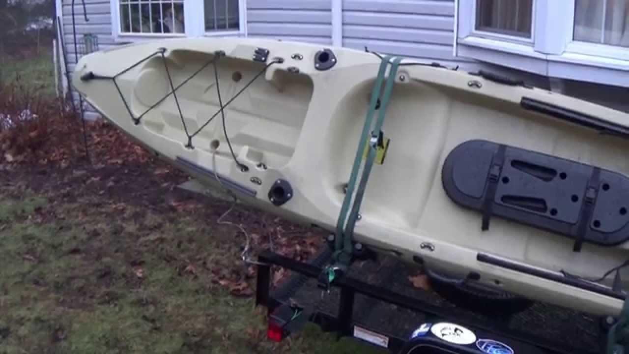diy kayak rack for utility trailer