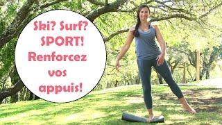 Évitez les blessures (genoux, chevilles) grâce à la proprioception.