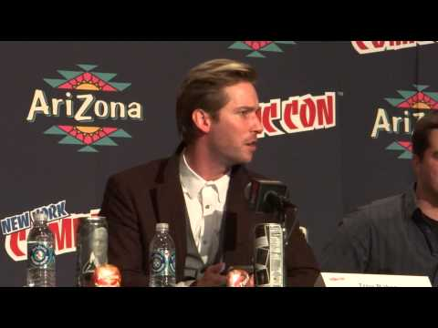 Troy Baker recites Joker´s Killing Joke monologue NYCC 2013