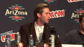 Troy Baker recites Joker´s Killing Joke monologue -NYCC 2013