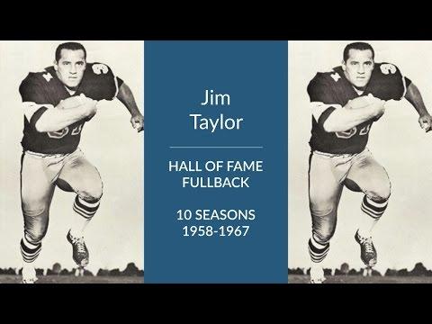 Jim Taylor: Hall of Fame Football Fullback