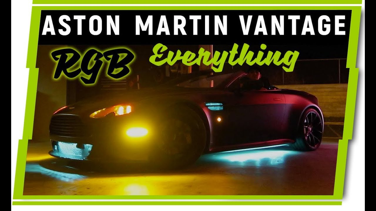 Tons Of Leds Aston Martin Vantage Custom Tail Lights And