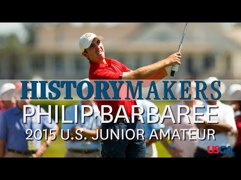 History Makers: Philip Barbaree's Epic Comeback In 2015 U.S. Junior Amateur