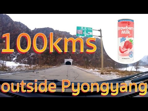 100kms outside Pyongyang - North Korea