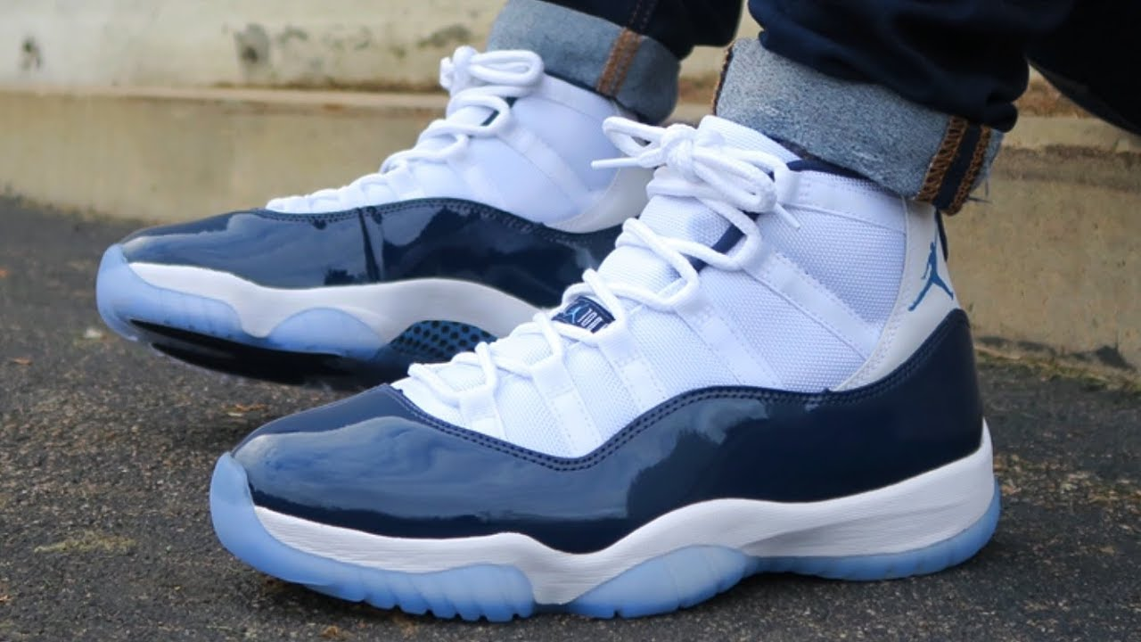 "Air Jordan Retro 11 ""Win Like '82"" ON FEET"