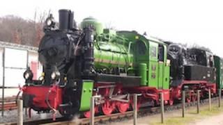 Dampflok Doppeltraktion - der Rasende Roland Steam Train doublehead