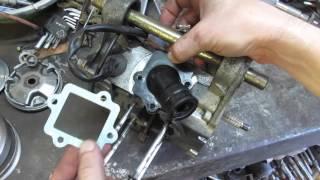 Yamaha 3KJ Qurilma JOG va petal klapan o'rnatish
