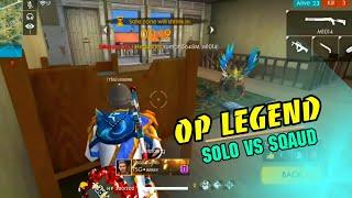 Solo vs sqaud || Short Range Beast , Must Watch ||GARENA FREEFIRE