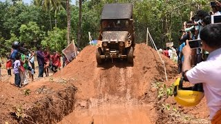 Jeep Mud Racing Bino Achayan And Others At Thrikkur Thrissur 2017