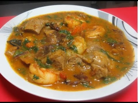 How to make Ogbono soup | Nigerian way of cooking ogbono ...