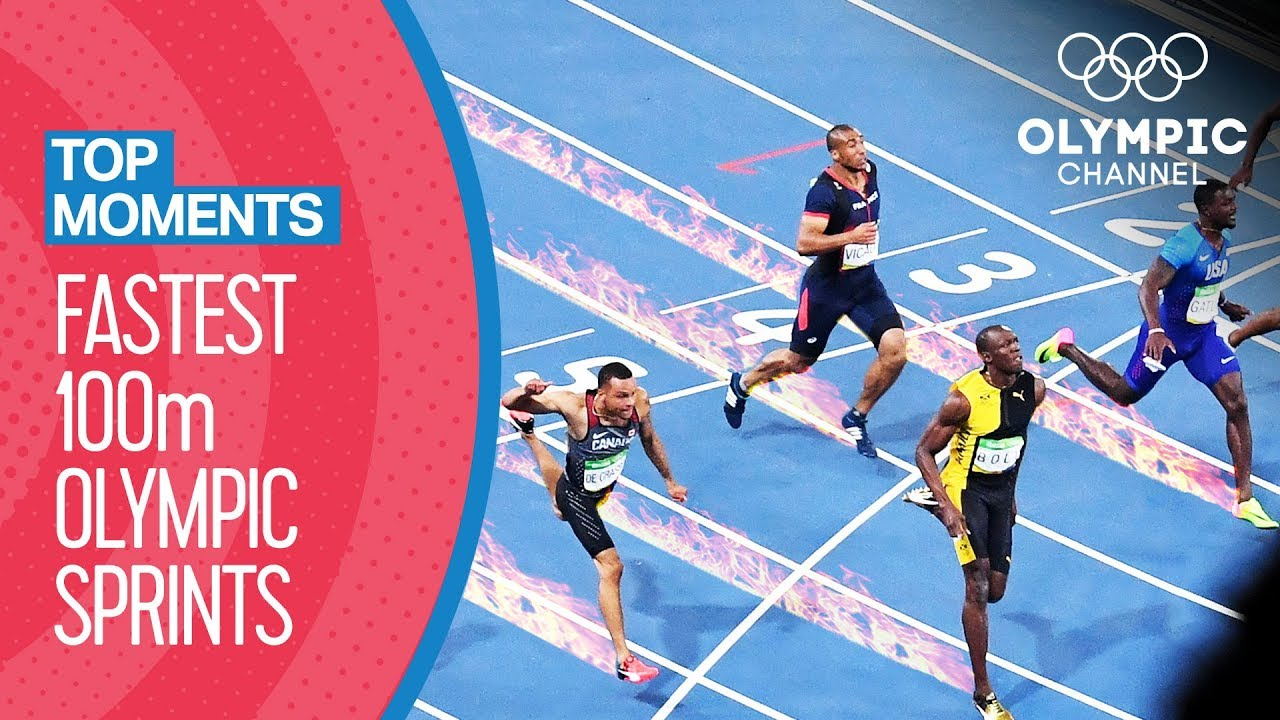 Top Fastest Men S 100m In Olympic History Top Moments