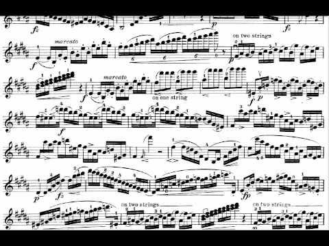 Caprice de Rode N°11  (www.sheetmusic-violin.blogspot.com)