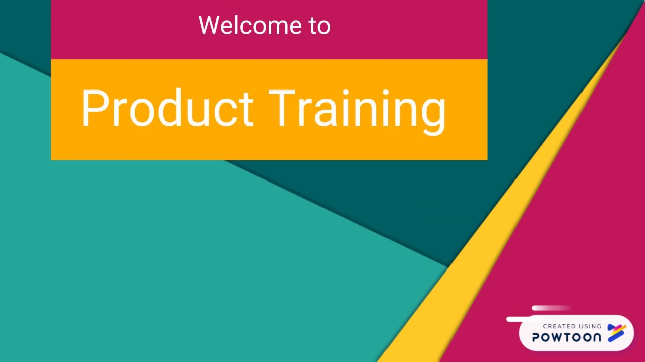 Product Training Video Template Edit This Powtoon Now