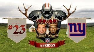 No. 23 New York Giants: 2015 Preseason RanKings