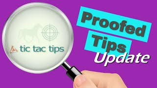 Tic Tac Tips Horse Racing Betting Tips Results Update