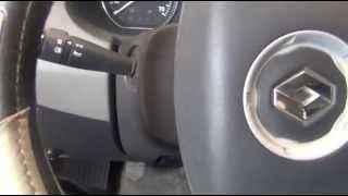 Renault Logan almashtirish, ta'mirlash (akustik signal) qo'llaringiz bilan signal / işlevli tarmog'i o'z navbatida chap