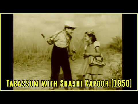 Shashi Kapoor and Baby Tabassum | Film Sangram (1950) | Tabassum Talkies