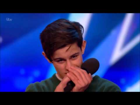 Singer Reuben Grey Sings To Girlfriend Gets SHOCKED! | Britains Got Talent 2017