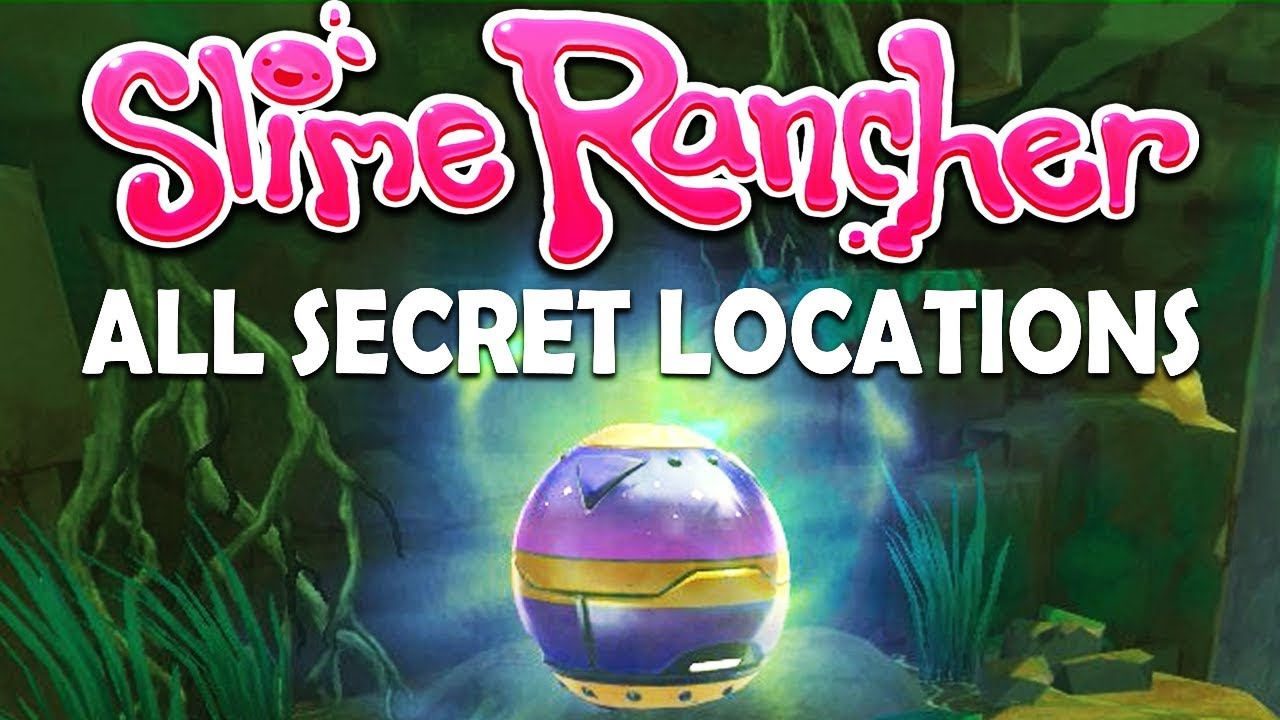 ALL SECRET POD LOCATIONS | Slime Rancher - Secret Style DLC [Update V1 4]
