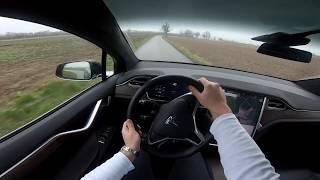 Tesla Model X100d Test Drive