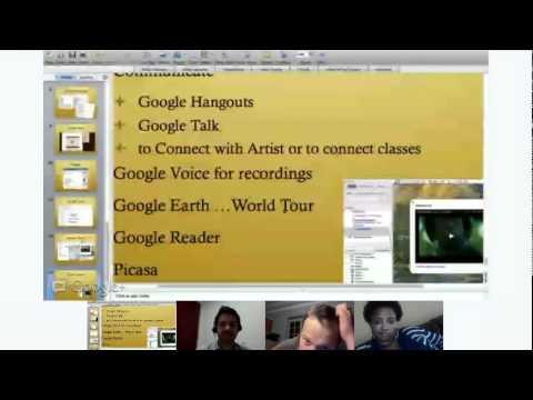 "EduOnAir: Akesha & Phil, ""A Global Hip Hop Passport"" Google+ Hangout"