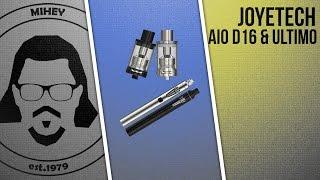 Joyetech eGo AIO D16 & Ultimo Atomizer. Очень не плохо...(, 2016-08-12T13:04:16.000Z)