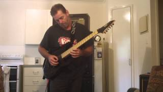 """Cover of Andy James """"The Last Goodbye"""" from """"Modern Metal 1"""""""