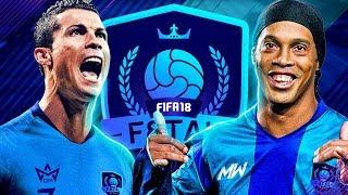 F8TAL FINAL VS DAVID MEYLER!! | PRIME RONALDINHO VS 99 RONALDO - FIFA 18 ULTIMATE TEAM