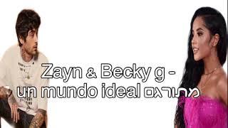 Zayn Becky G un mundo ideal Aladdin.mp3
