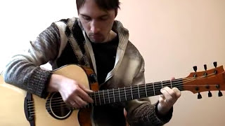 ''Спасибо, родная'' (М.Боярский) соло кавер на гитаре В.Трощинков | уроки гитары Киев и Скайп