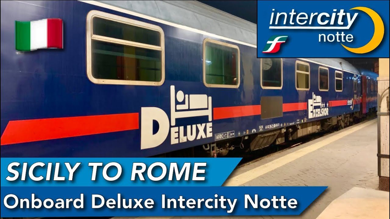 Sicily to Roma onboard Trenitalia DELUXE sleeper : Mixed experience