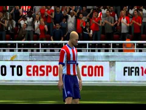 Atletico de Kolkata vs North East #FIFA 14 Game play with ISL Teams