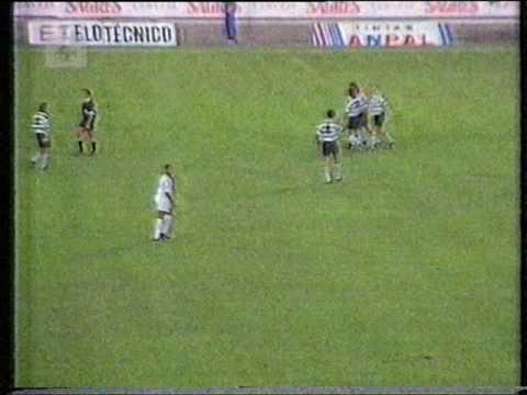 Sporting - 1 x E. Amadora - 2 de 1993/1994, 1/2 Final Taça de Honra AF Lisboa