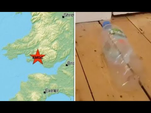 UK earthquake: Videos shows witnesses react to 4.9M quake as only Britons can